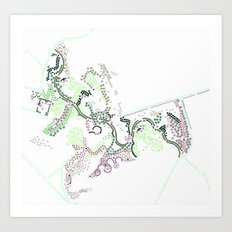 City of Plants Art Print