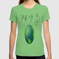 And I think to myself Womens Fitted Tee Grass SMALL