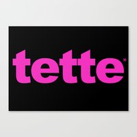TETTE Canvas Print