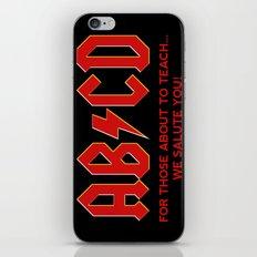 teachers, WE LOVE YOU! iPhone & iPod Skin