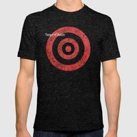 Target Of Desire Mens Fitted Tee Tri-Black SMALL