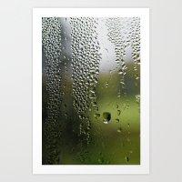 Upside Down Landscapes Art Print