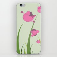 Tulips iPhone & iPod Skin