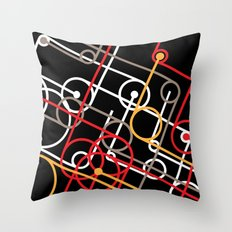 Unidentified Energy Throw Pillow
