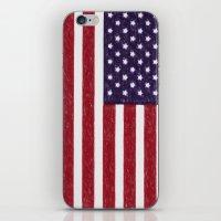 United States National F… iPhone & iPod Skin