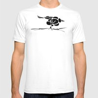 Hotuiti Mens Fitted Tee White SMALL
