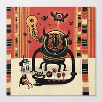 Insect Catcher Canvas Print