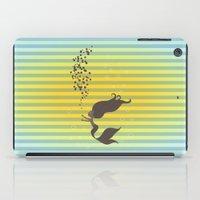 Black Mermaid iPad Case