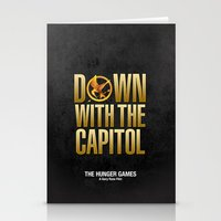 Hunger Games - Down With… Stationery Cards