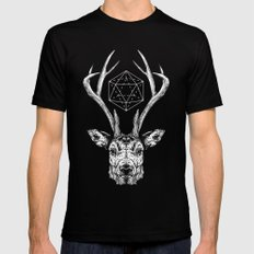 Stag SMALL Black Mens Fitted Tee