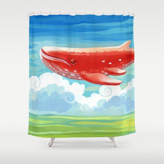 Migration Shower Curtain