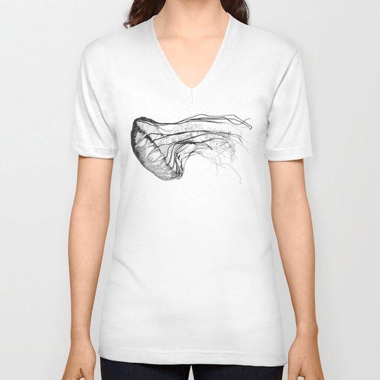 Medusozoa V-neck T-shirt