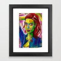 Ad Libitum Jusqu'à La poussière Framed Art Print