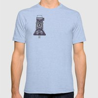 Kershaw Eight-20 King Penguin Mens Fitted Tee Athletic Blue SMALL