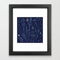 Magic Weapons Framed Art Print