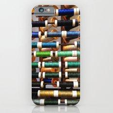 Thread samples in Paris iPhone 6 Slim Case