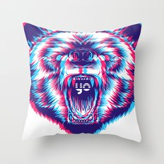 yo bear Throw Pillow