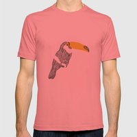 Figure n.2 Mens Fitted Tee Pomegranate SMALL