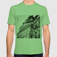 away from this city  Mens Fitted Tee Grass SMALL