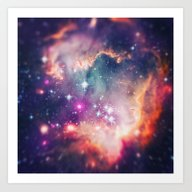 The Universe Under The M… Art Print