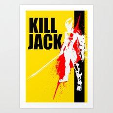 KILL JACK - ASSASSIN Art Print