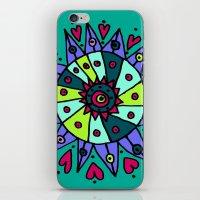 Cara Blue iPhone & iPod Skin