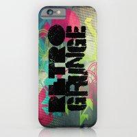 Abstract373 Retro Grunge iPhone 6 Slim Case