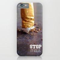Smoking Kills iPhone 6 Slim Case