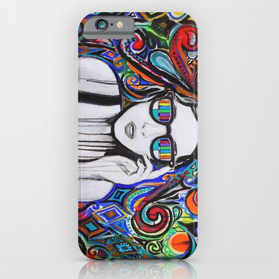 Think in Technicolor iPhone & iPod Case