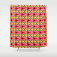 Jelly Arcade Pattern Shower Curtain