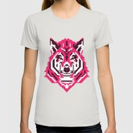 T-shirt featuring Geometric Wolf by Roland Banrevi