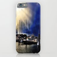 iPhone & iPod Case featuring Sky Opening to Sailboats by Thephotomomma