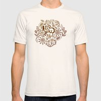Be You Tiful (gold Editi… Mens Fitted Tee Natural SMALL