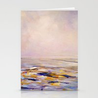 HAZY SUNRISE Stationery Cards