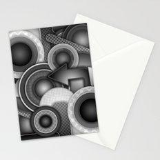 Monochrome Mayhem  Stationery Cards