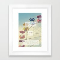 Today is Awesome Framed Art Print