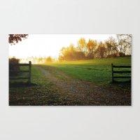 Heavens gate Canvas Print
