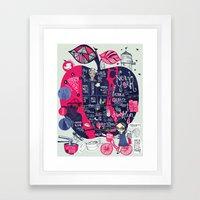 Fugetabout it! Framed Art Print