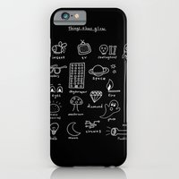 iPhone & iPod Case featuring Things that Glow by Tonteau