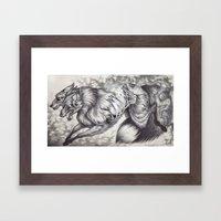 Ablaze Framed Art Print