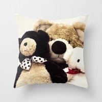 Bearily Bearily Throw Pillow