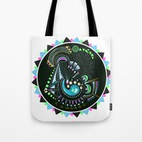 Formed in Space  Tote Bag