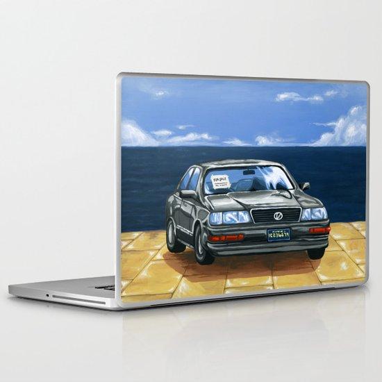 Street Fighter II Bonus Stage Car Laptop & iPad Skin