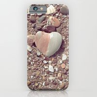 Heart on the Beach iPhone 6 Slim Case