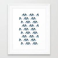 Butterflies In Dreams Framed Art Print