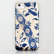 Blue Oriental Vintage Pa… iPhone 5c Slim Case