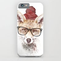 lady gaga iPhone & iPod Cases featuring It's pretty cold outside by Robert Farkas