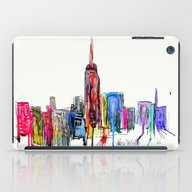 iPad Case featuring New York Inked  by Bri.buckley