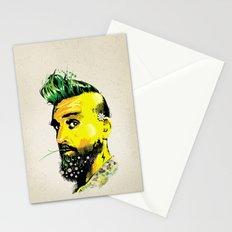 GREEN BEARD Stationery Cards