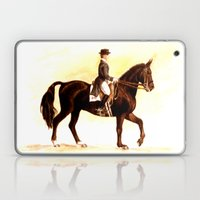 Horses and People No.2 Laptop & iPad Skin